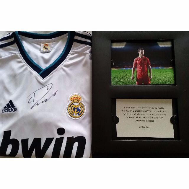 sports shoes 3f0d7 fc2d2 Original Cristiano Ronaldo Signed Jersey 2012/13