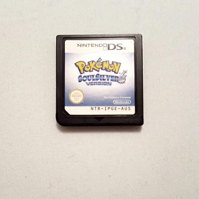 Pokemon Soul Silver Nintendo DS Game