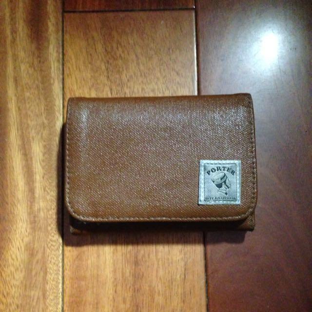 Porter 皮夾  零錢卡夾拉鍊皮包