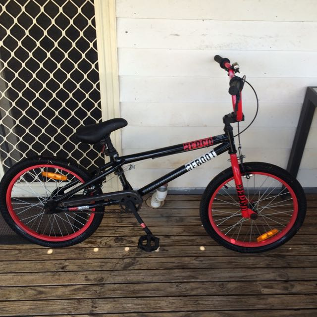 Repco Reboot Black And Red BMX