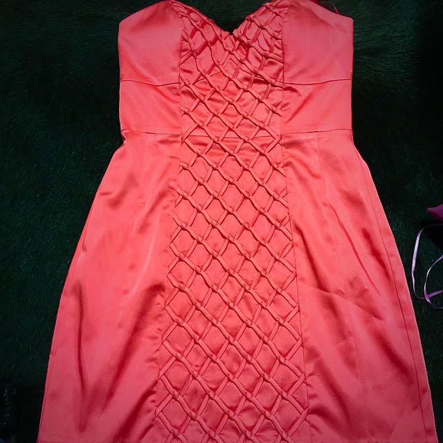Seduce Strapless Cocktail Dress Size 8
