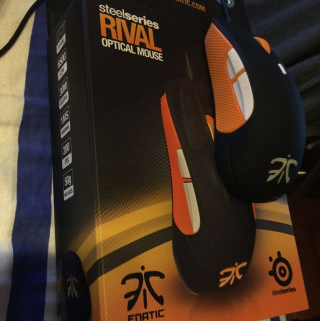 Steelseries Rival Fnatic Limited Edition Mouse