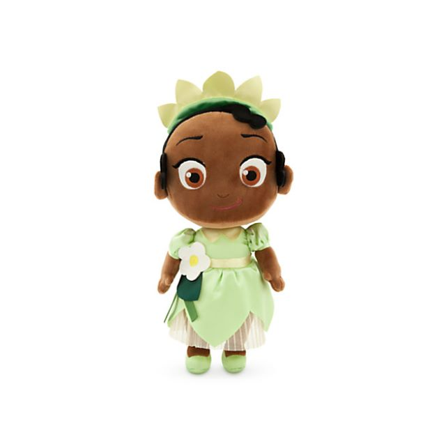 Toddler Tiana Plush Doll - Princess and the Frog - Small - 12''
