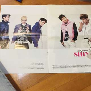 SHINee Posters x5