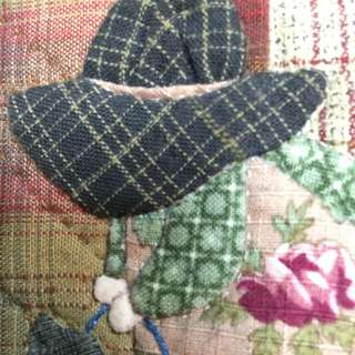 手縫拼布蘇婆婆書套