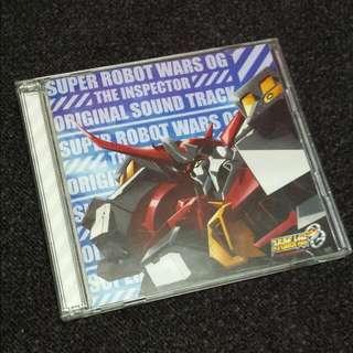 CD Super Robot Wars OG / Taisen The Inspector Original Soundtrack  ジ.インスペクター / SRW (Music Soundtrack)
