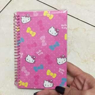 Hello Kitty筆記本全新
