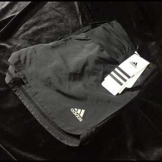 adidas 愛迪達 黑色 短褲 運動褲 全新 正品