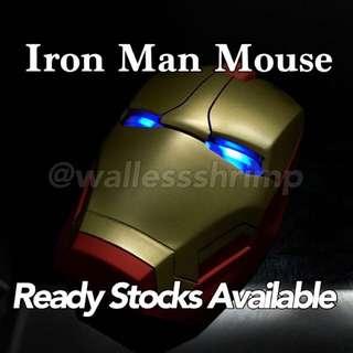 Wireless Iron Man Mouse | Gold