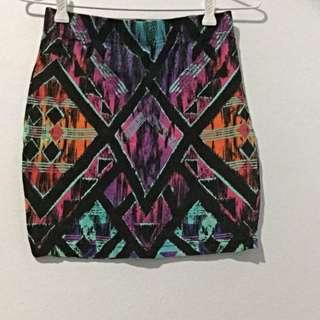 Aztec Rainbow Skirt