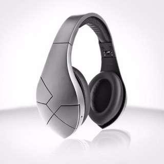 Velodyne 威力登 vBold Silver 公司貨 耳罩式 無線 NFC 藍芽耳機 通話耳機 銀色