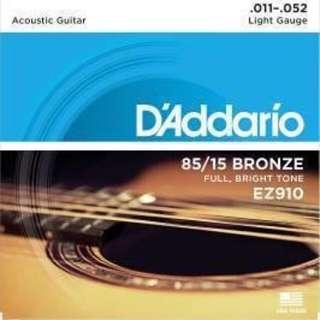 【超低價】(全新包裝)D'Addario Ez910 民謠吉他弦
