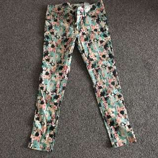 Glassons Printed Jeans