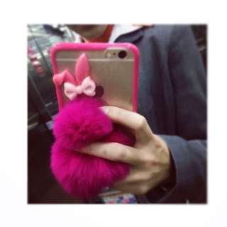 桃紅兔寶寶iphone6plus殻