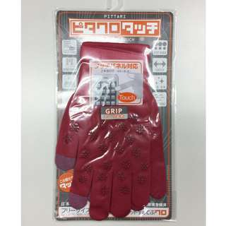 日本製  手機觸碰手套-超薄