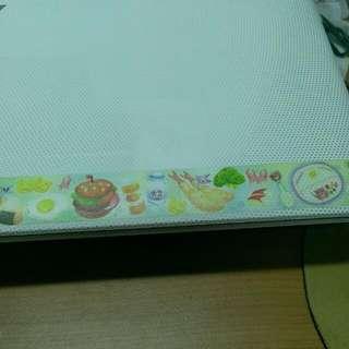 鄧小熊 兒童餐 紙膠帶分裝
