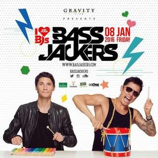 Bassjackers @ GRAVITY CLUB KL JAN 2016