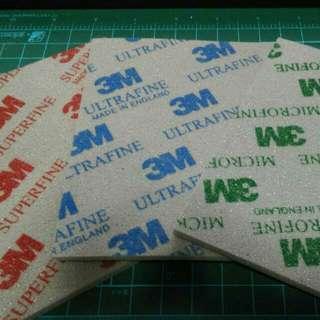 3M Sanding Sponge Pack of 3 Pieces