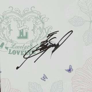 Lovelyz - Lovelyz8 (Autographed by Babysoul)
