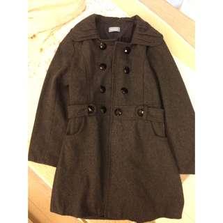 日本製毛呢大衣外套
