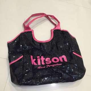 Kidson 黑桃 亮片包