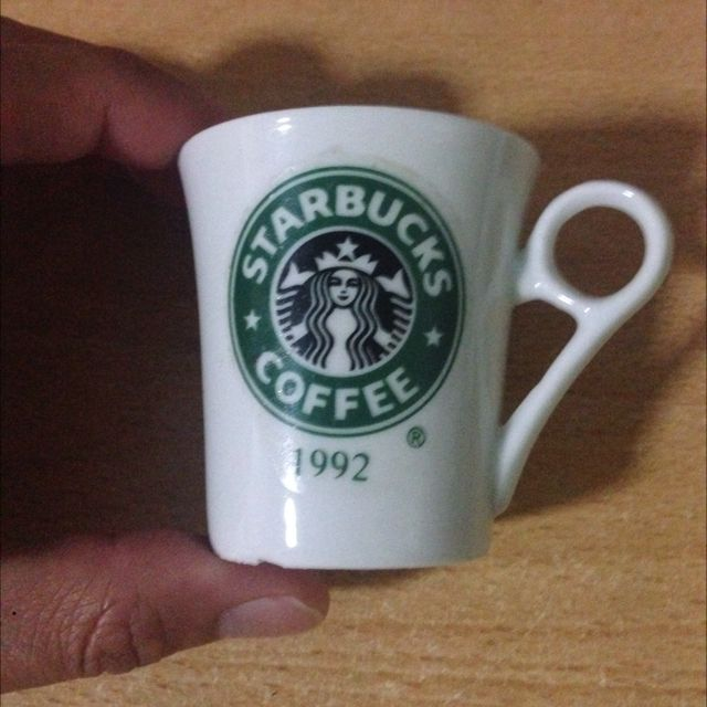 1992 Starbucks Coffee Mug Shots