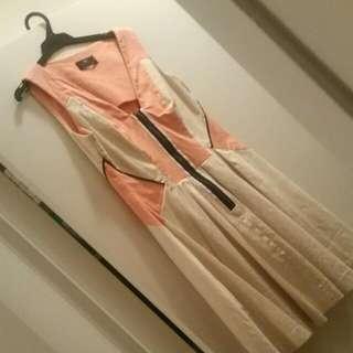 Orange / Yellow Cue Dress