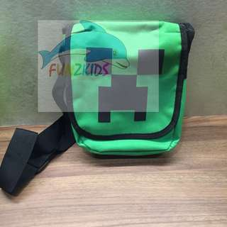 Minecraft Sling Bag - Creeper