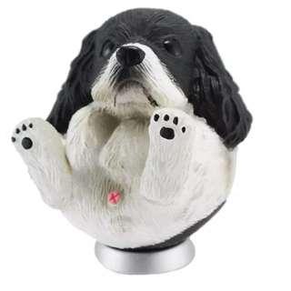 圓滾滾系列 美國可卡犬 公仔 轉蛋玩具