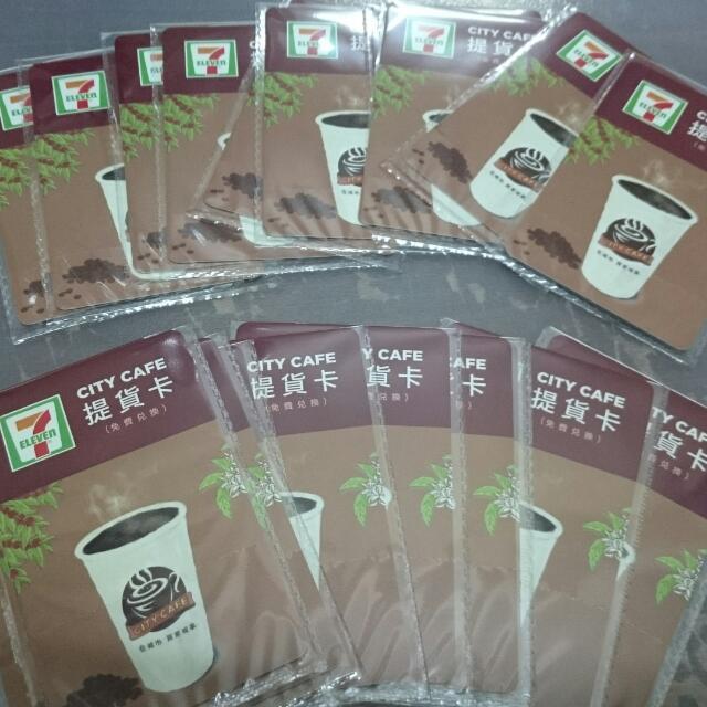7-11 CITY CAFE 咖啡提貨卡