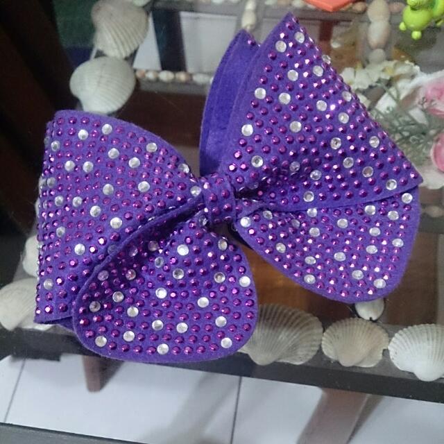 韓國蝴蝶結髮夾