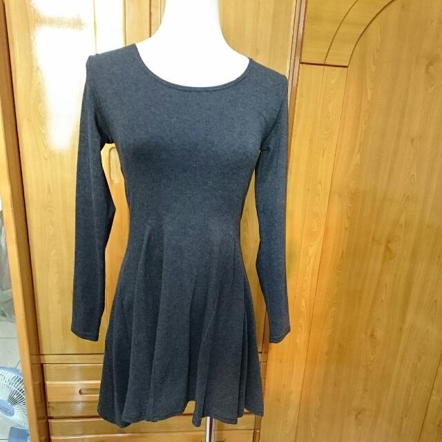 合身韓版小洋裝