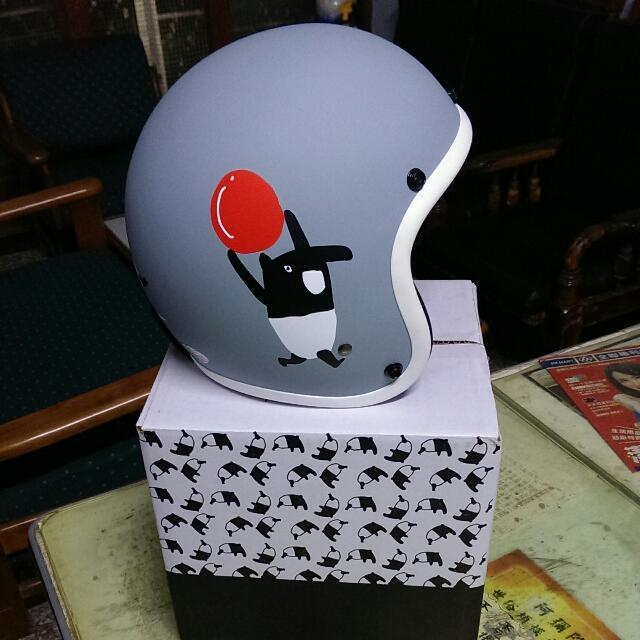 馬來貘安全帽