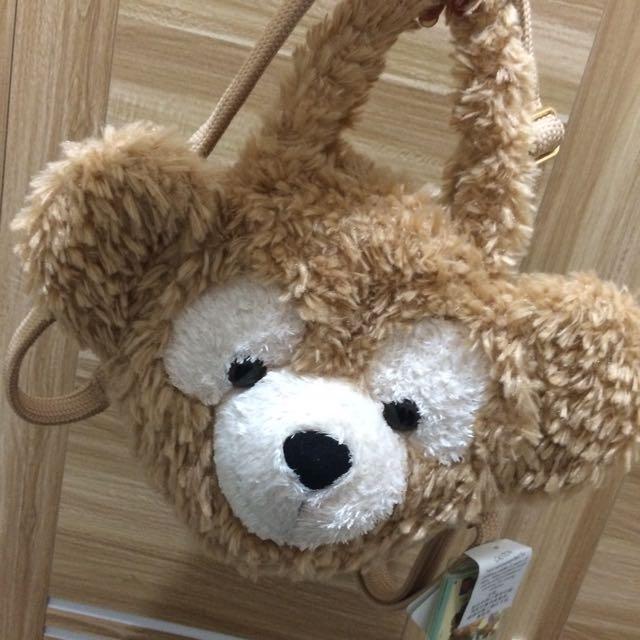 達菲熊包包