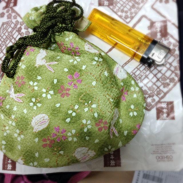 降!日本 質感 錦囊小袋