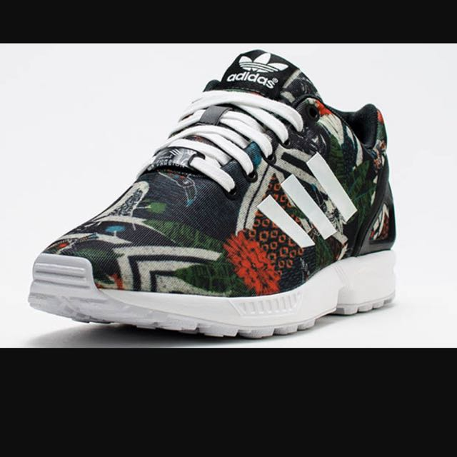 best loved ed5f3 1f8fb ADIDAS ZX FLUX FOREST FLORAL