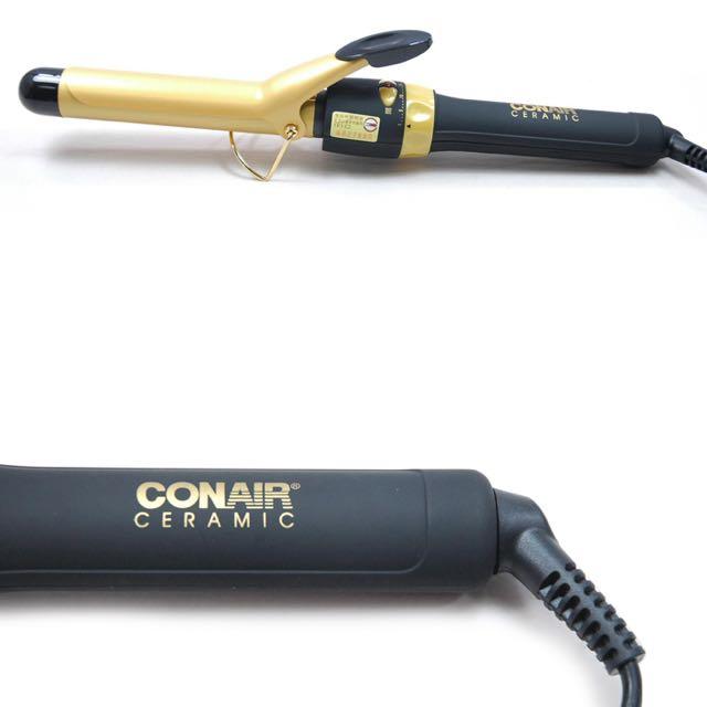 (待匯款)CONAIR 康尼爾 金色陶瓷快熱電棒捲
