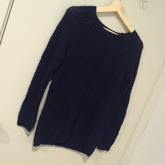 Dark Blue Dotti Jumper BNWOT