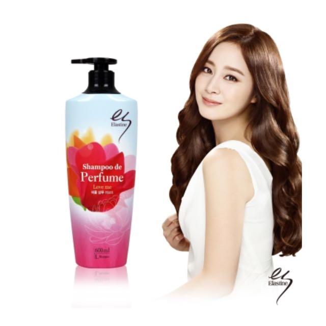 《特價》韓國Elastine甜蜜愛戀奢華香水洗髮精600ml