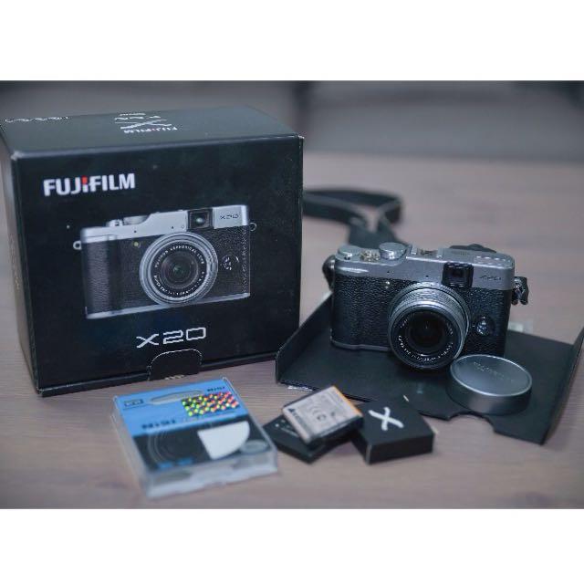 Fuji X20 Fijifilm