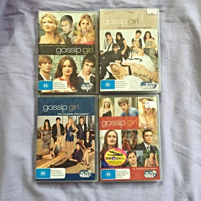Gossip Girl Seasons 1-4