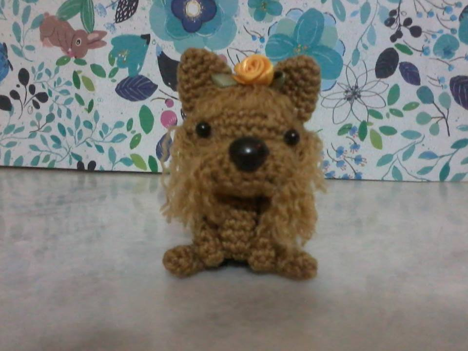 Free Crochet Yorkie Dog Patterns | The WHOot | 720x960