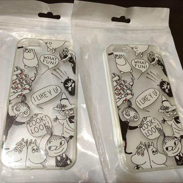 Iphone/5s Moomin 嚕嚕米 亞美 軟殼 透明