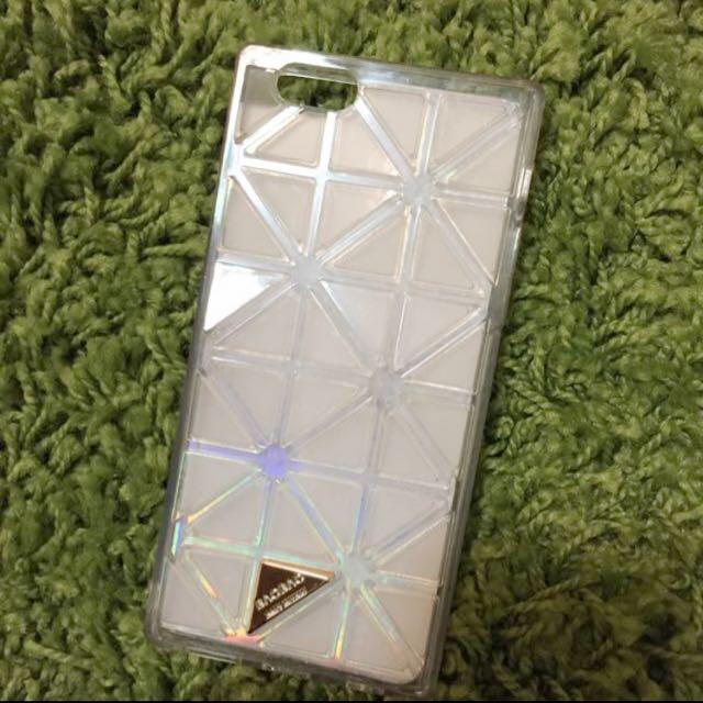 Iphone6.6s 三宅一生 鐳射 透明 殼
