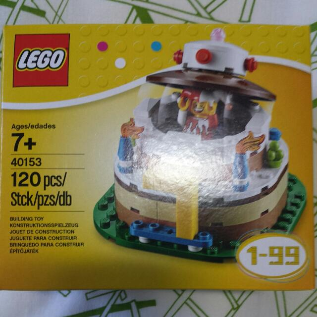Lego 40153 Birthday Cake Toys Games On Carousell