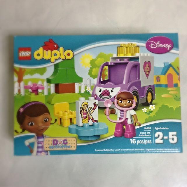 Lego Duplo 10605 Doc Mcstuffins Rosie The Ambulance Toys Games On