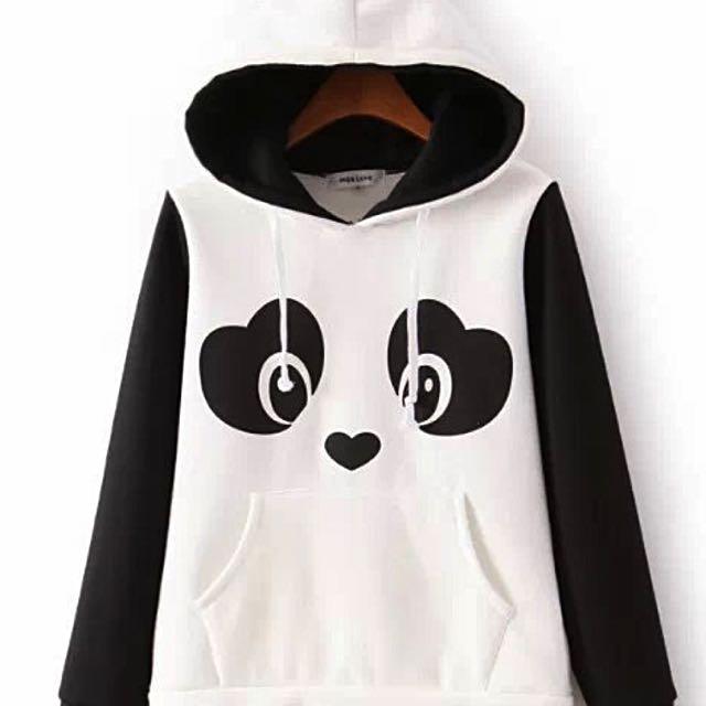 Panda Hoodie With Ears