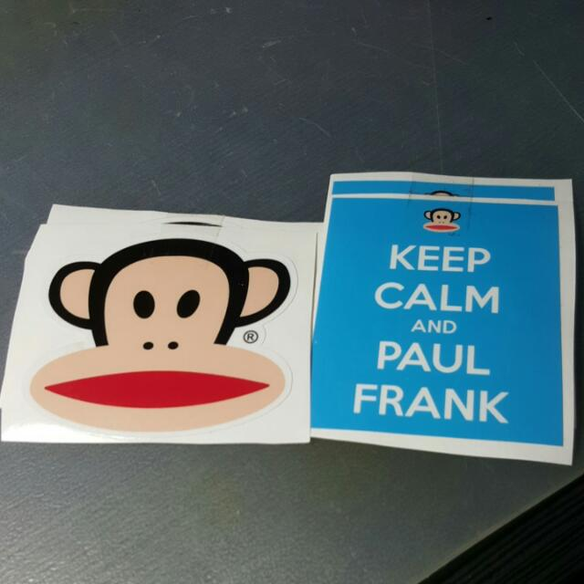 Paul Frank Set Stickers Car Accessories On Carousell