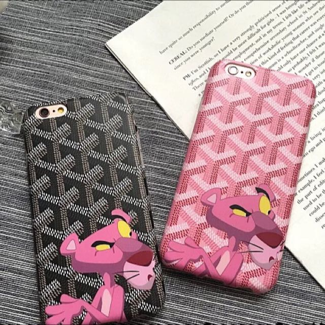 New Style Ba4f6 701ca Goyard Pink Panther Iphone Case