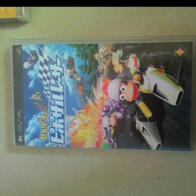 PSP遊戲光碟猴子賽車,天誅忍大全